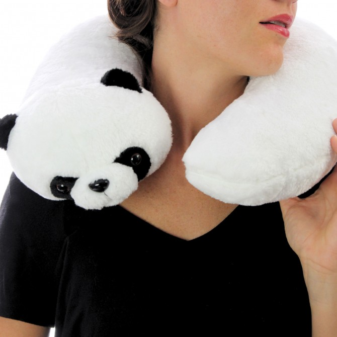 Coussin de voyage Panda