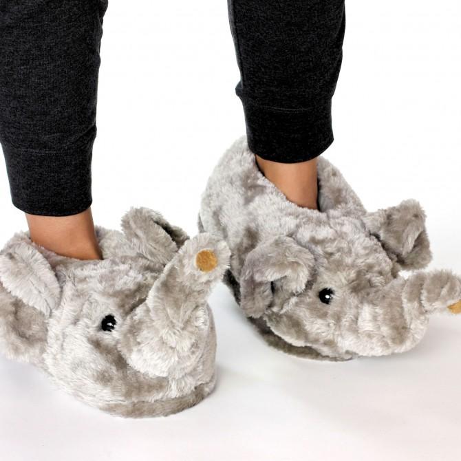 chaussons éléphant pour homme et femme