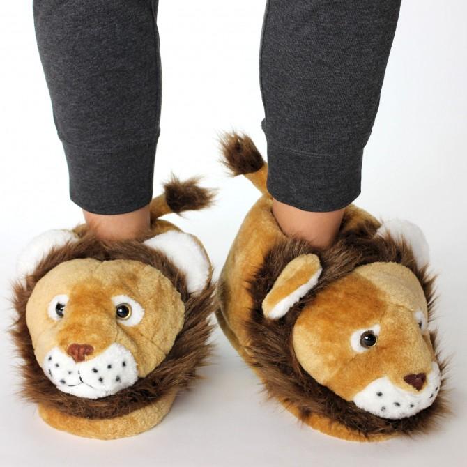 chaussons originaux lion pour homme