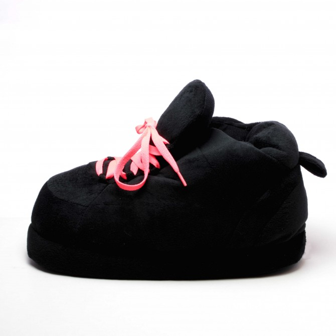 All Black Lacets Corail