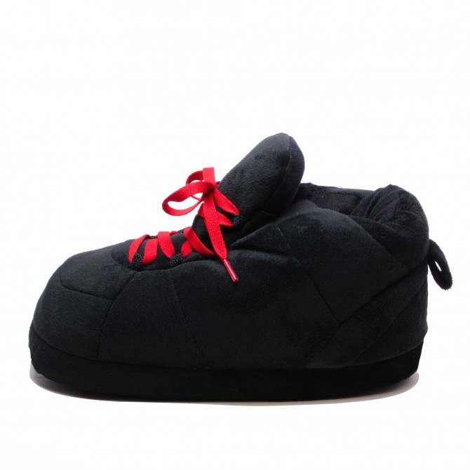All Black Lacets Rouge