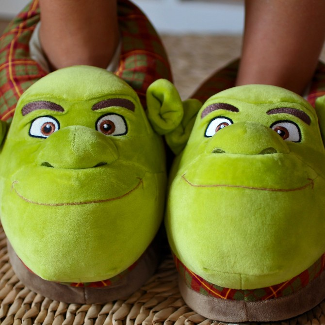 dc7cce1d0d62 Shrek slippers from DreamWorks Shrek movie for man