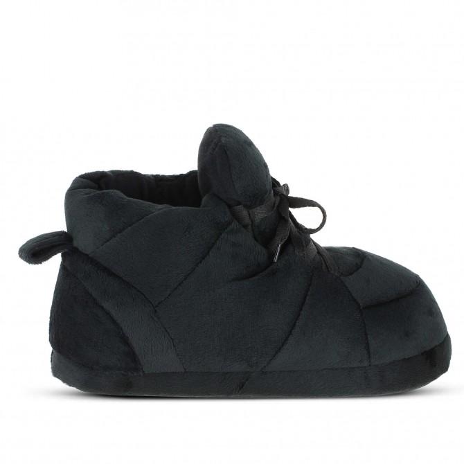 chaussons originaux rigolos noir et blanc pour homme femme et enfant sleeper 39 z. Black Bedroom Furniture Sets. Home Design Ideas